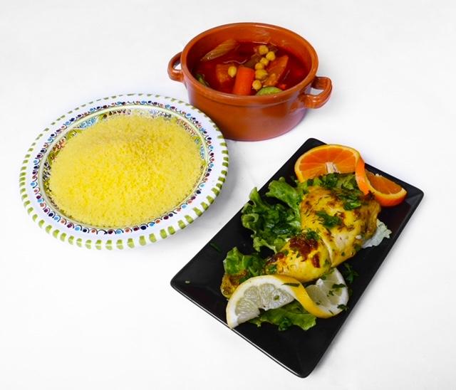 Couscous poulet