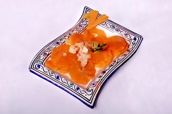 Salade d'oranges avec boule de glace (2 personnes)